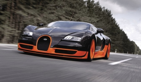 Top Gear Involved in Record Veyron Super Sport?
