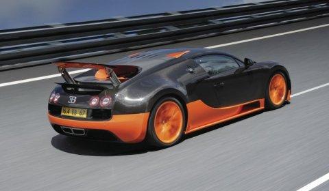 Video Bugatti Veyron Super Sport Teaser