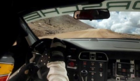 Video Porsche GT3 Cup Pikes Peak Hill Climb