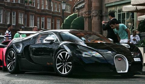 Video Summer in London is Supercar Heaven