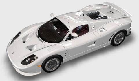 2011 De Macross GT1 Supercar From Canada