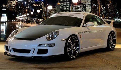 Barracuda Tzunamee Wheels For Porsche Models