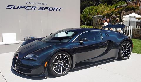 Bugatti Veyron Super Sport Public Debut