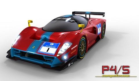 Ferrari P45 Competizione Renderings
