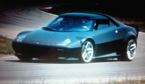 Lancia Stratos Spyshots