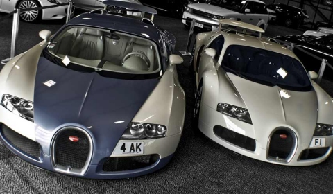 Afzal Kahn Receives Second Veyron and Orders a Third One