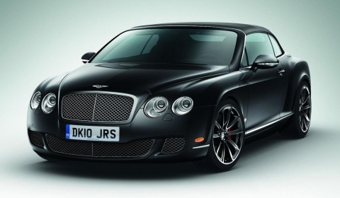 Monterey 2010: Bentley Continental GTC and GTC Speed 80-11 Editions
