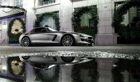 Photo Of The Day Mercedes-Benz SLS AMG