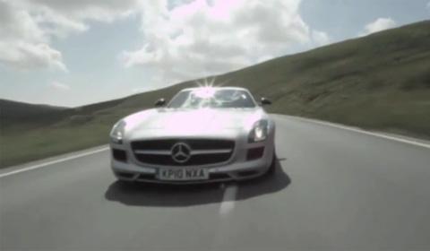 Mercedes SLS AMG at the Isle of Man