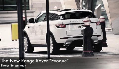 Spyshots New Range Rover Evoque in London