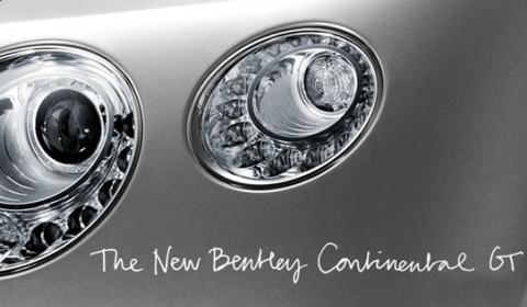 Teaser 2012 Bentley Continental GT