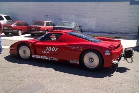 Twin Turbo Ferrari Enzo at Bonneville Speed Week