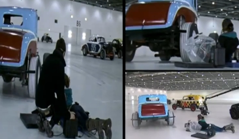 Video Behind the Scenes Audi R8 Spyder Commercial