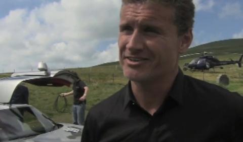 Video Coulthard Drives SLS AMG at Isle of Man