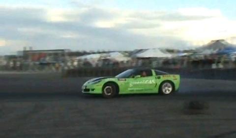 Video Drift World Record with Corvette Z06?
