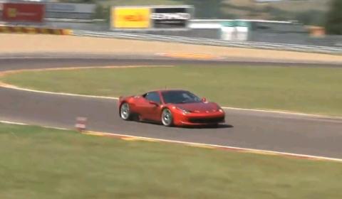 Video Ferrari 458 Challenge at Fiorano