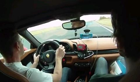 Video Ferrari 458 Italia Track Test by Evo