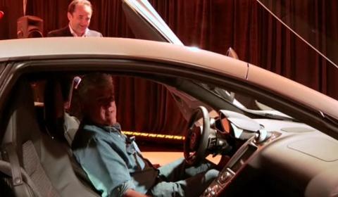 Video Jay Leno's Tour of the McLaren MP4-12C