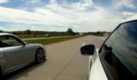 Video Switzer R911 997 GT2 vs Switzer E900 R35 GTR