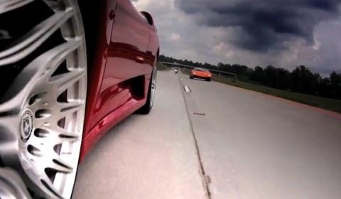 Video Underground Racing F430 TT vs LP570 Superleggera