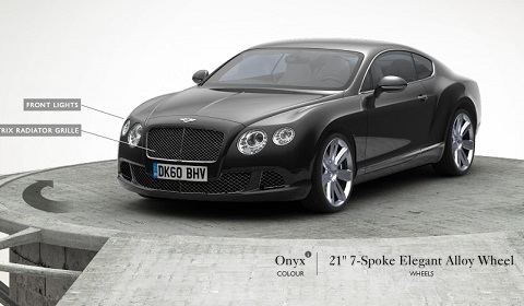 Bentley Continental GT Visualiser