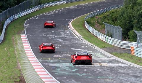 Ferrari 599XX at the Nürburgring Nordschleife