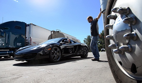 McLaren Testing MP4-12C In Arizona