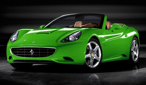 Ferrari Plans Green California for Paris 2010