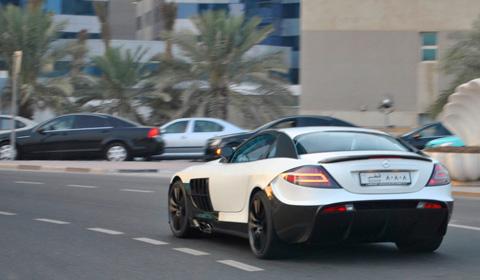 White Mansory Renovatio SLR in Doha Qatar