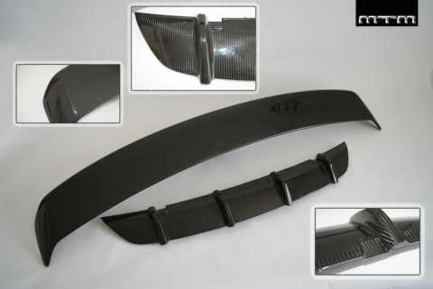 MTM TT-RS Carbon Fiber Spoiler and Diffuser 01