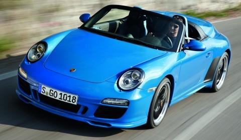 Paris 2010: 2011 Porsche 911 Speedster