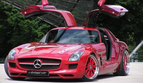 Overkill Mercedes-Benz SLS AMG by Domanig