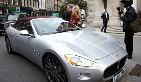 photo of Pamela Anderson  - car