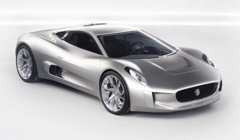 Paris 2010 Jaguar C-X75 Concept