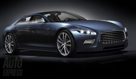Rendering Aston Martin's Lagonda Revival