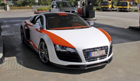 Spotted Prototype MTM R8 V10 Twin-Turbo