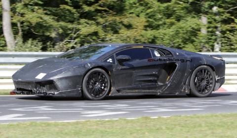 Spyshots: 2011 Lamborghini Jota - Murciélago Replacement at Nordschleife