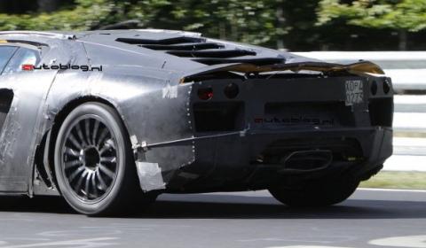 Spyshots: 2011 Lamborghini Jota - Murciélago Replacement at Nordschleife 01