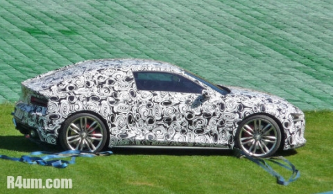 Spyshots Audi R4 Prototype Shows Its Face