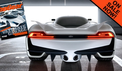 SSC Ultimate Aero II Shows Backside for Top Gear