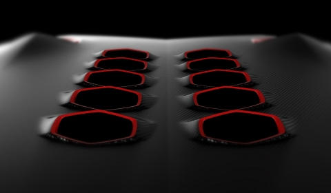 Teaser 2 Lamborghini Design Study for Paris Motor Show 2010