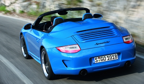 Video: 2011 Porsche 911 Speedster