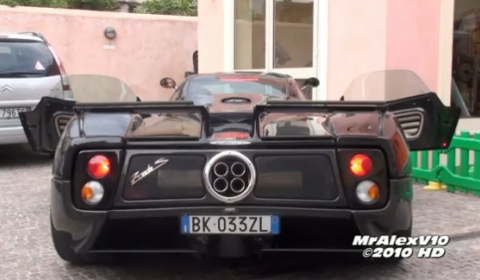 Video Horacio Pagani's Carbon Pagani Zonda C12S