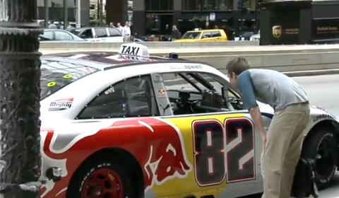 Video Of The Day Nascar Taxi in Downtown Chicago