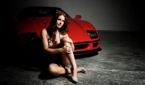 Hope & Ferrari F40