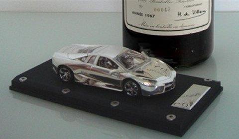 Gold & Platinum Ultima Jewelry Luxury Toy Car Models