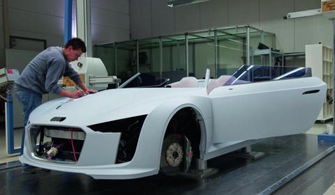 Making of Audi E-tron Spyder