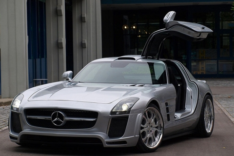 Mercedes-Benz SLS AMG by FAB Design 01