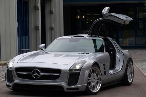 Mercedes-Benz SLS AMG by FAB Design 01