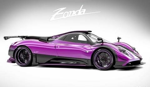 New One-off Pagani Zonda 750